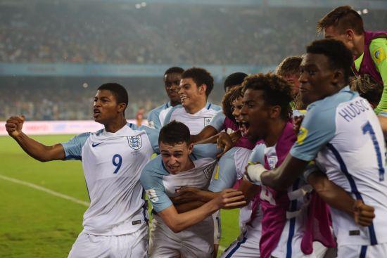Англія розгромила Іспанію і виграла чемпіонат світу U-17