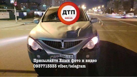 У Києві SsangYong на смерть збив неуважного пішохода
