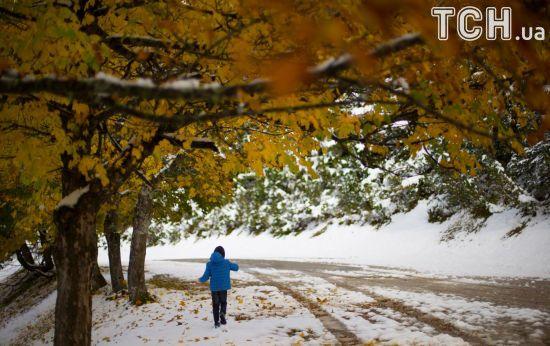 Синоптики попереджають про сніг та хуртовини. Прогноз погоди на 30 жовтня