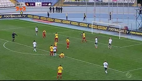 Зирка - Ворскла - 1:0. Видео матча