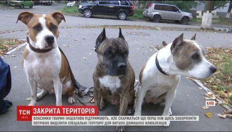 В Киеве запретили выгул домашних животных на территории школ и больниц