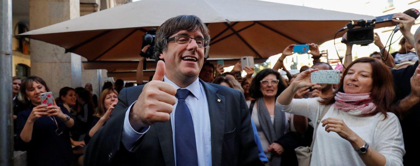 В Бельгии освободили на поруки каталонского лидера и четверых его соратников