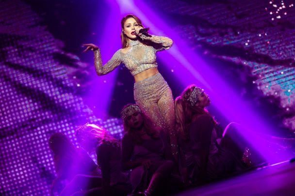 Тіна Кароль відіграла видовищний концерт у Києві: балет двійників, онлайн-трансляція і новий альбом