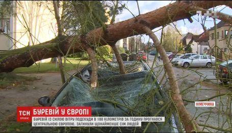 Поваленные деревья и большая вода: Германия оправляется от мощного удара урагана