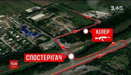 Журналисты ТСН реконструировали схему расстрела авто, в котором была Амина Окуева