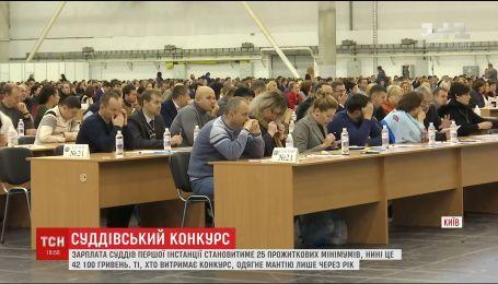 В Киеве стартовал конкурс на должности судей первой инстанции