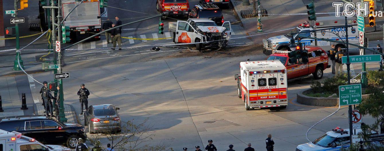 З'явилося відео затримання терориста, який вбив 8 людей у Нью-Йорку