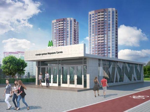 Проектувальники показали, який вигляд матимуть нові станції метро на Виноградарі в Києві