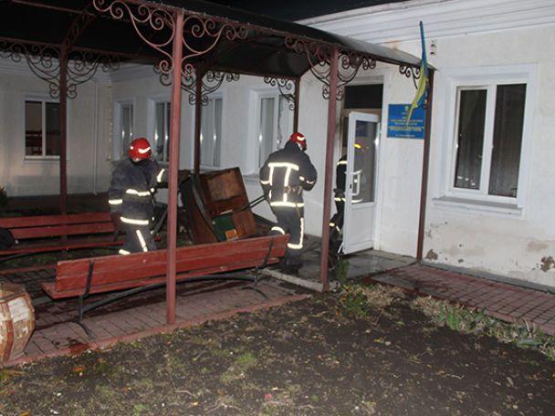 В Хмельницком горел детский реабилитационный центр