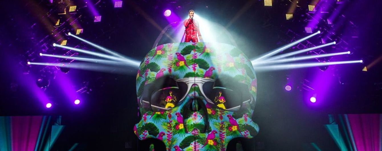 Девятиметровый череп за миллион гривен: Алан Бадоев рассказал о мистических декорациях на концерте Макса Барских