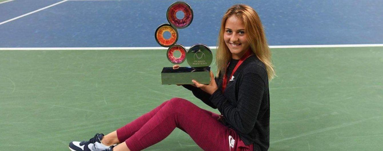 Украинская теннисистка Костюк поднялась на рекордное второе место мирового рейтинга