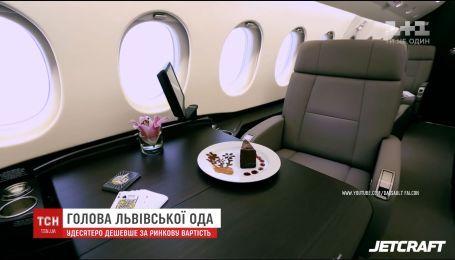 Коррупция или удача: львовские чиновники получили 90% скидки на аренду турецкого VIP-самолета