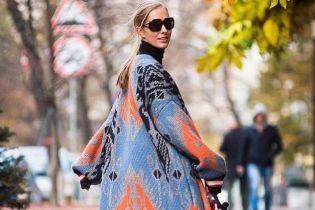 В пестром пальто и солнцезащитных очках: Катя Осадчая показала осенний образ