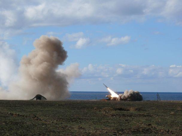 На Херсонщині розпочалися випробування зенітних керованих ракет