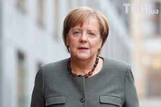 В Германии у стен парламента на новоизбранную Ангелу Меркель попытался напасть мужчина