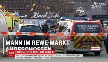 У супермаркеті Німеччини сталась стрілянина