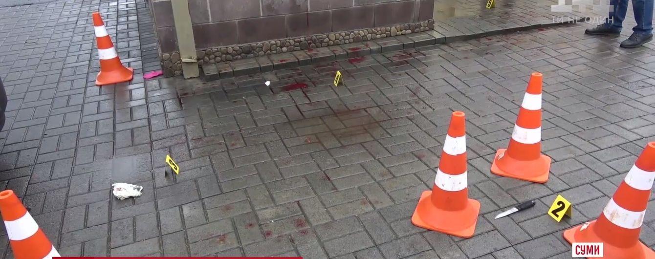 У Сумах ображений чоловік із ножем напав на ресторан