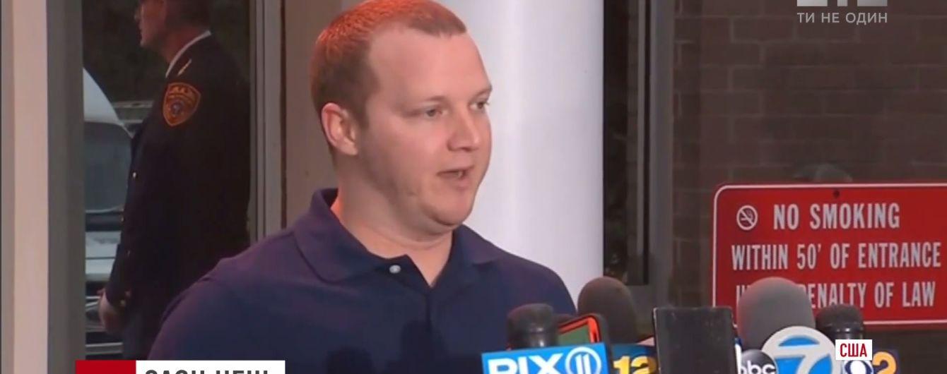 Поблагодарил и пообещал молчать: теракт в Нью-Йорке прокомментировал коп, который остановил убийцу