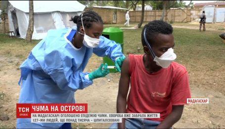На Мадагаскаре эпидемия чумы унесла жизни более сотни людей