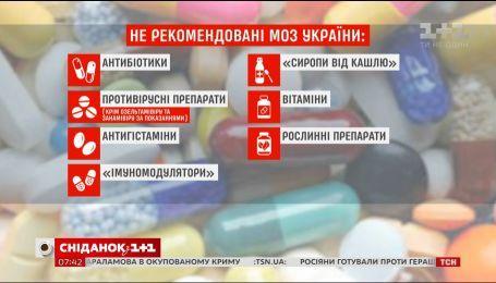 Как украинцы отреагировали на опубликованный МОЗ список нерекомендованных лекарств