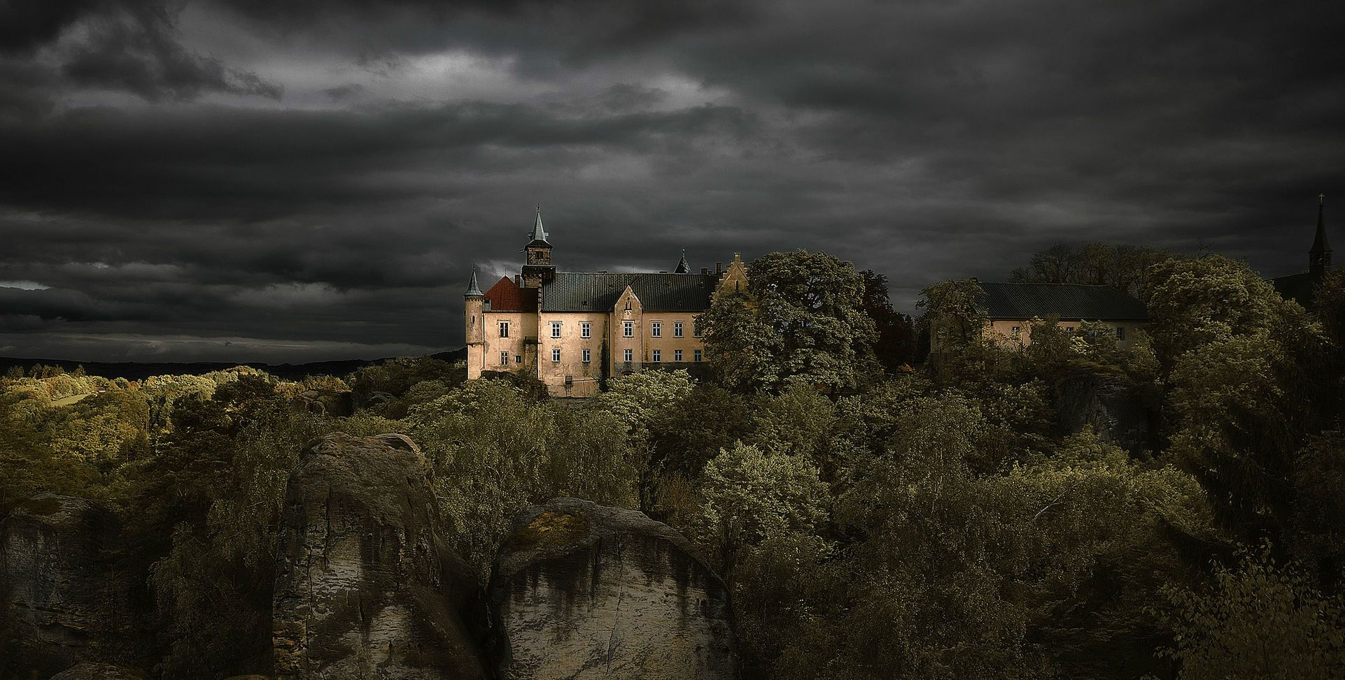 Замок Груба Скала, Чехія