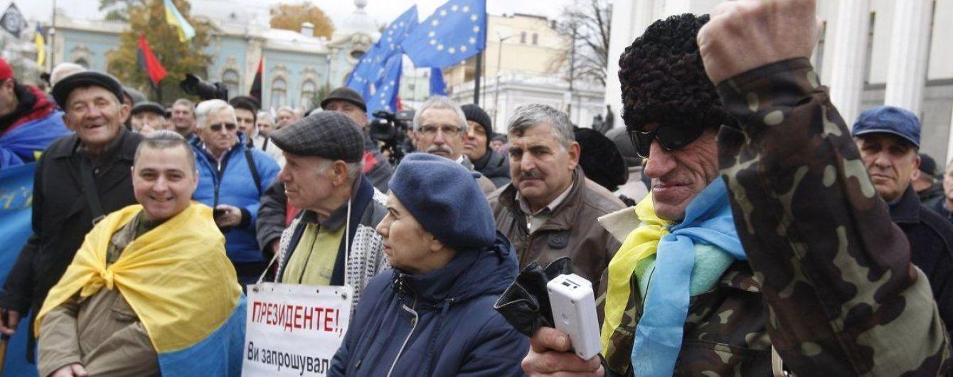 Представники наметового містечка під ВР примусово обшукують відвідувачів парламента — Геращенко