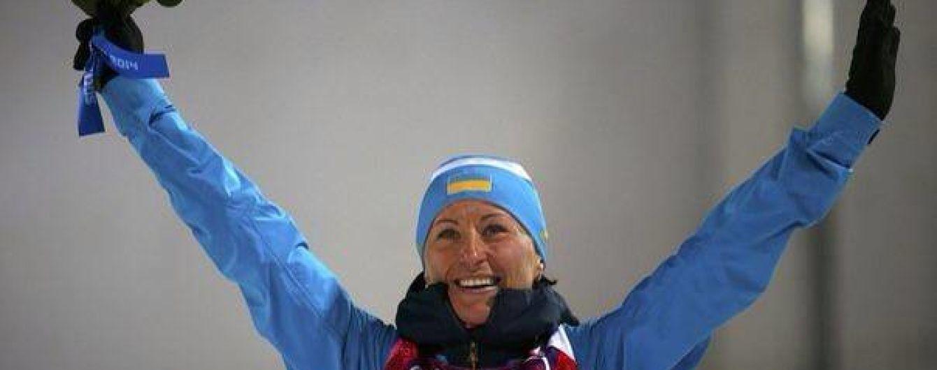 Призерка Олімпіади Віта Семеренко може не потрапити до основи збірної з біатлону