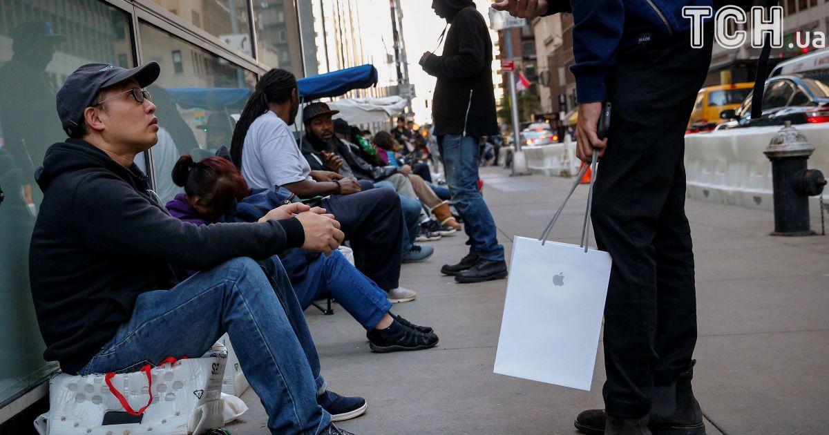 Черги за телефоном у Нью-Йорку @ Reuters