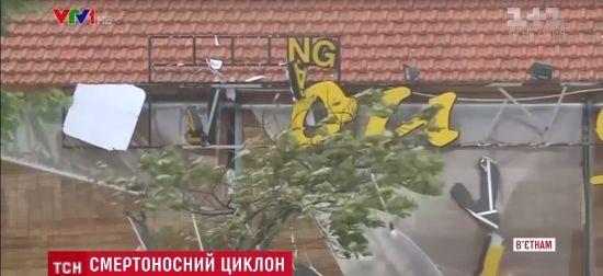 Нищівний тайфун ударив по місцю майбутньої зустрічі Путіна з Трампом