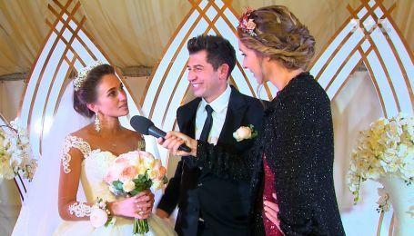 Андрій Джеджула з коханою розповідає про весілля