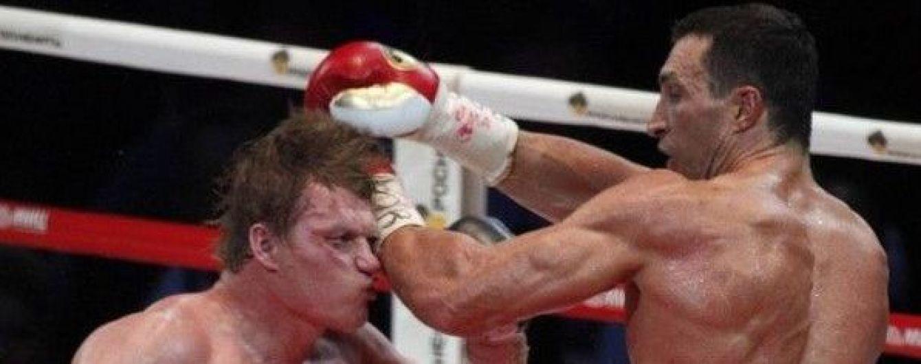 Российский боксер мечтает о реванше с Кличко