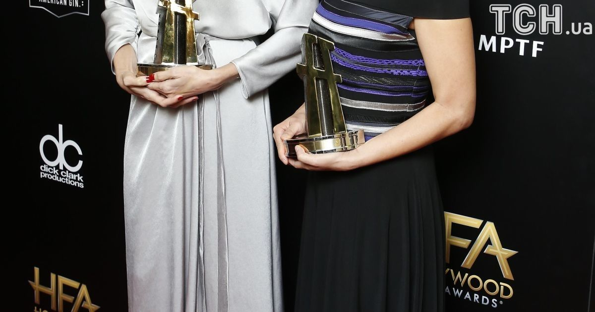 Анджелина Джоли и Лун Ун на Hollywood Film Awards 2017 @ Reuters