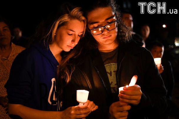 Молитва по погибшим в Техасе