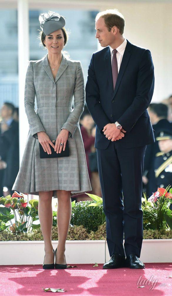 Беременная герцогиня Кембриджская. II триместр второй беременности _2