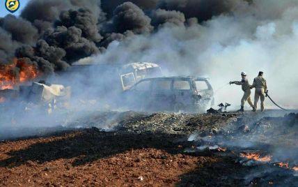 В Сирии в результате авиаударов по рынкам погибли более 30 гражданских