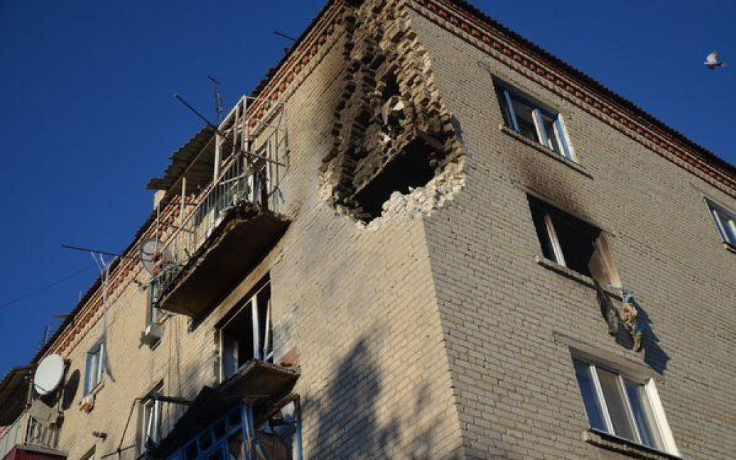 Десятки домов пострадали от взрывов / © ato.lisichansk.in.ua
