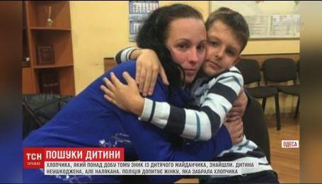 В центре Одессы нашли пропавшего из собственного двора мальчика