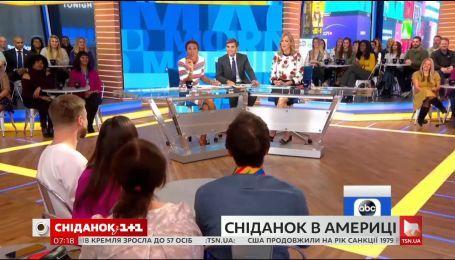 Как готовят к эфиру американское утреннее шоу Good Morning America