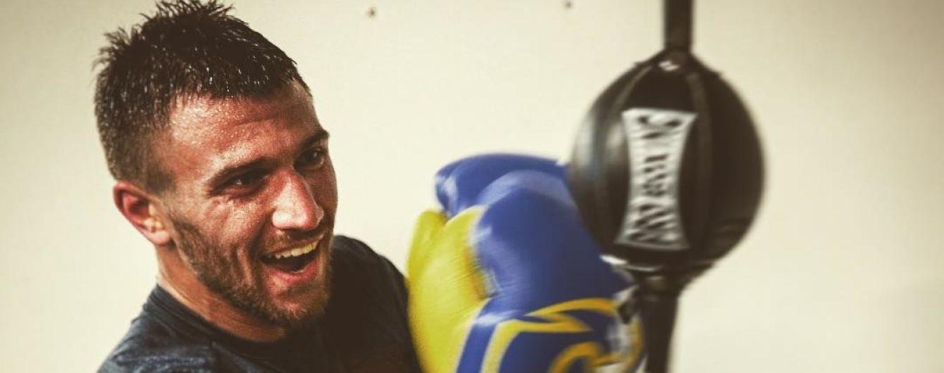 Ломаченко провів супернезвичайне тренування до бою з Рігондо