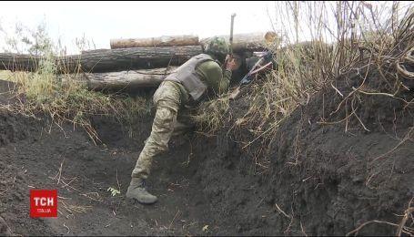 На фронте враг снизил интенсивность обстрелов