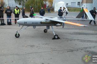 Под Киевом представили новый украинский беспилотник