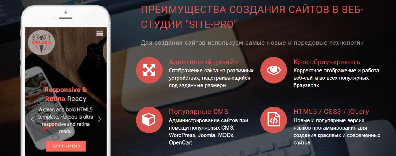 Создание сайта - неотъемлемая часть любого бизнеса