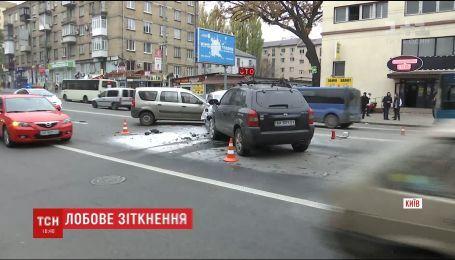 У столиці сталася смертельна ДТП за участю чотирьох автомобілів