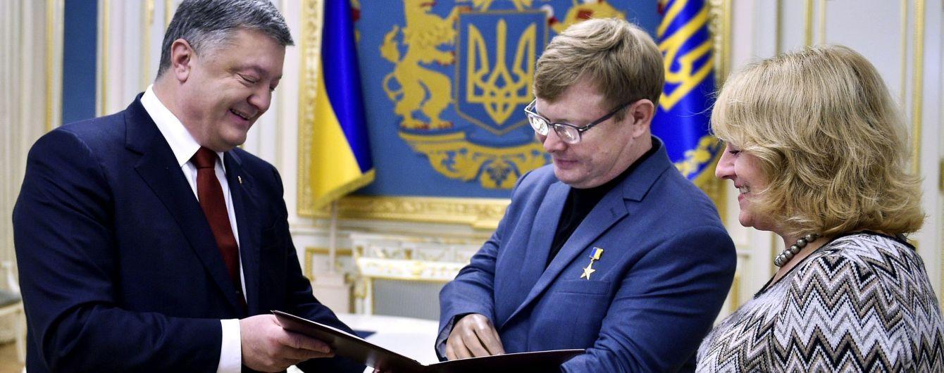 Порошенко подарил освобожденному из плена боевиков Жемчугову квартиру