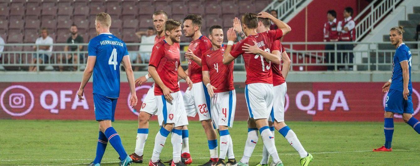 Збірна Ісландії програла Чехії у Катарі