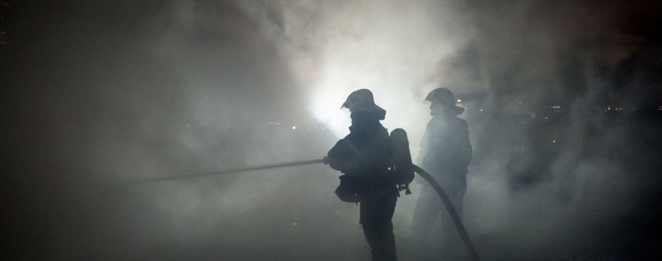 У Москві горів та сильно димів закритий об'єкт Служби зовнішньої розвідки Росії
