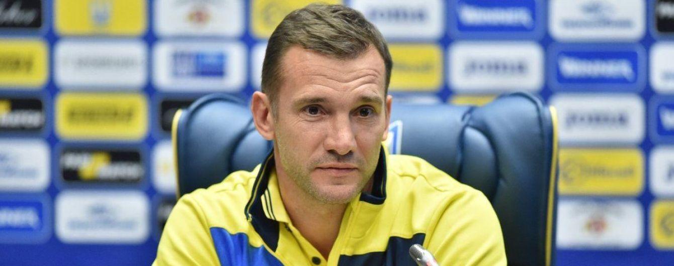 Шевченко: У першій половині наступного року проведемо кілька спарингів