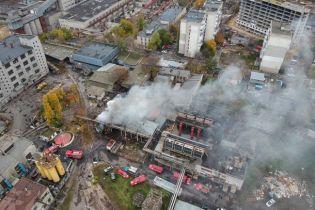 В Одессе горела кондитерская фабрика