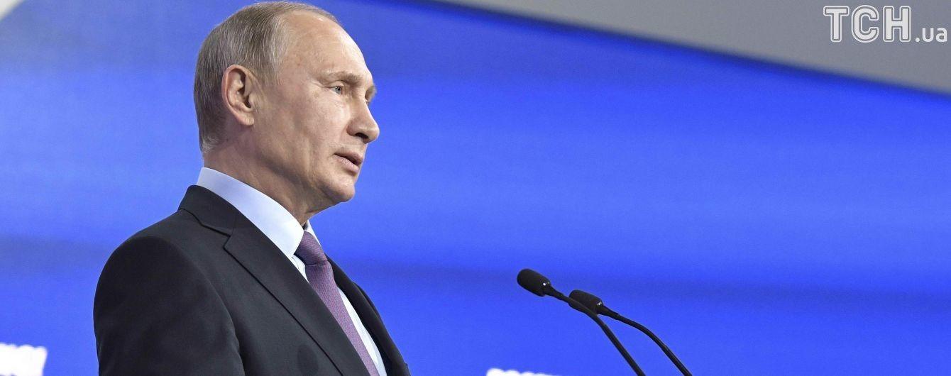 Путин считает обвинения в отношении допинга связанными с президентскими выборами в России
