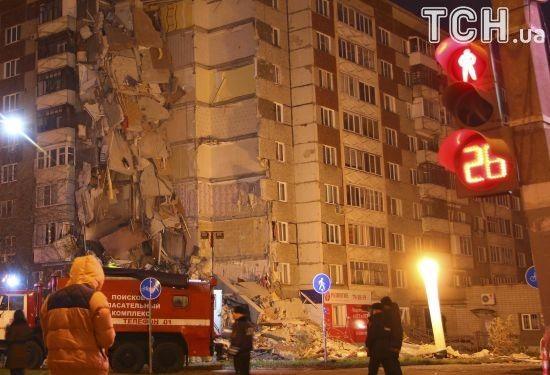 """Обвалення будинку в Іжевську: зросла кількість загиблих, невідомі """"замінували"""" школу з постраждалими"""